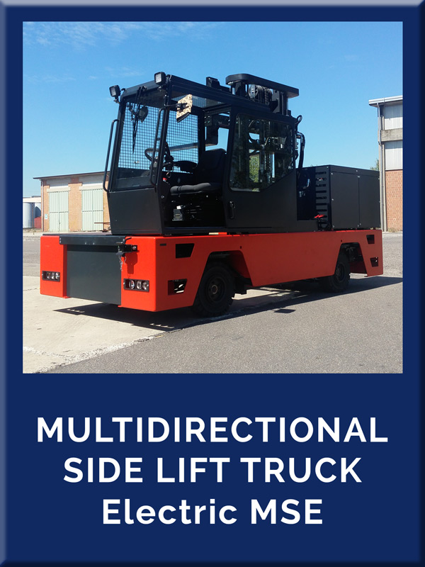 BP - Side Loaders - MULTIDIRECTIONAL side lift truck electric MSE