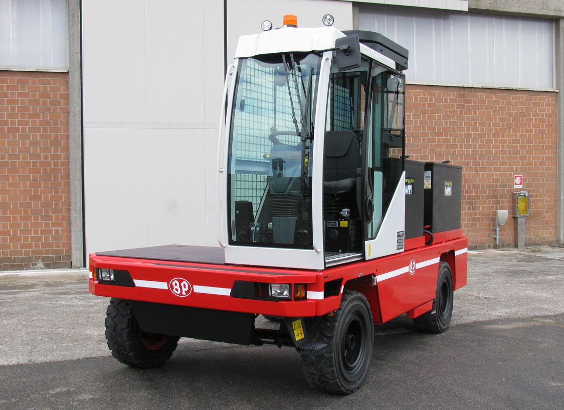 SIDE LOADERS heavy range Electric SHE